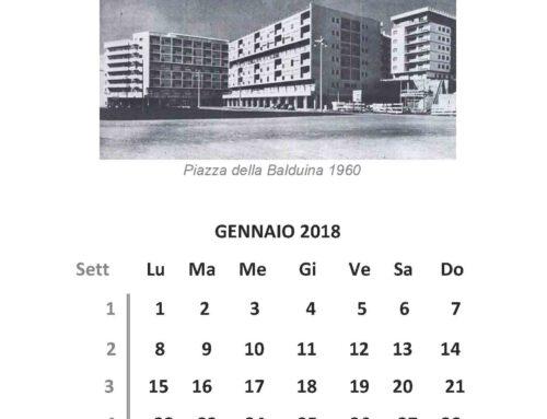 Il Calendario di Pianoterra alla Balduina – Gennaio 2018