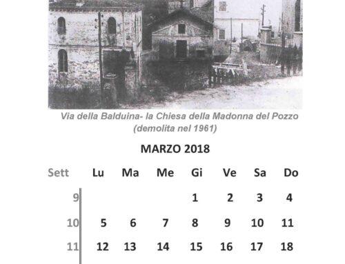 Il Calendario di Pianoterra – Marzo 2018